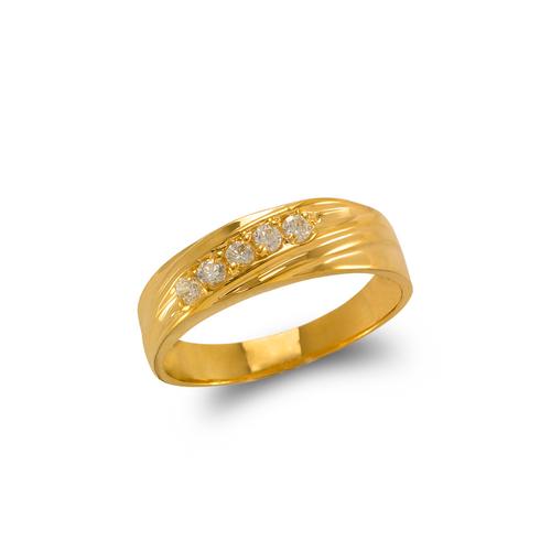 873-538 Men's Fancy Couple CZ Ring
