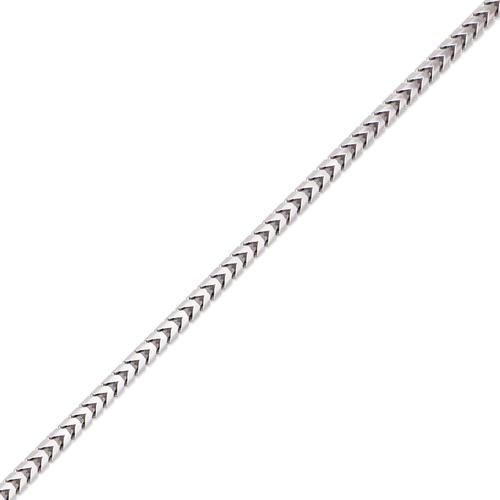 132-161WS Franco White Chain