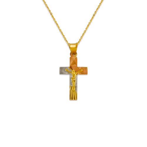 362-961T-020 Jesus Cross Scapular Pendant