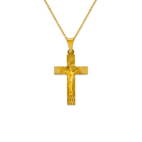 362-961-027 Jesus Cross Scapular Pendant
