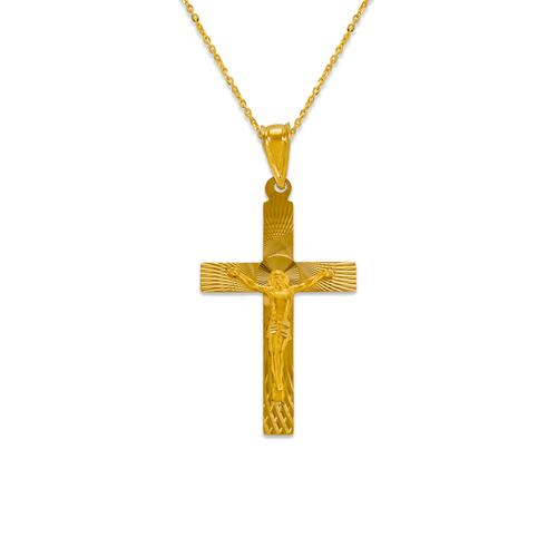 362-961-036 Jesus Cross Scapular Pendant
