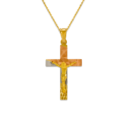 362-961T-036 Jesus Cross Scapular Pendant