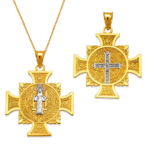 362-982Z-025 San Benito Medal Pendant
