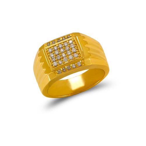 679-013 Men's Cluster CZ Ring