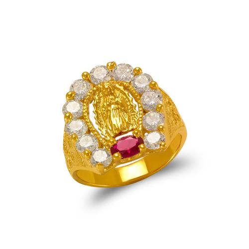 573-906 Men's Guadalupe Horseshoe CZ Ring