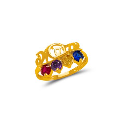 773-535B Mom CZ Ring