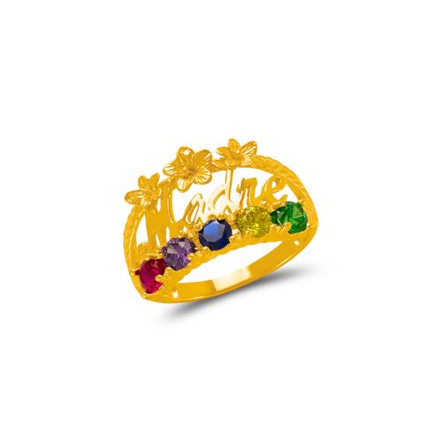 773-538C Madre CZ Ring