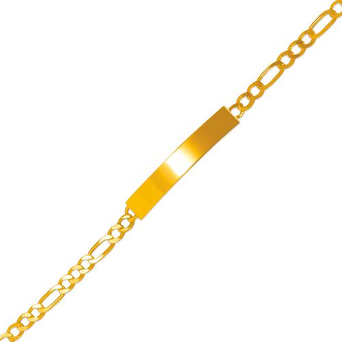122-250B-080 Kids Figaro Shiny ID Bracelet