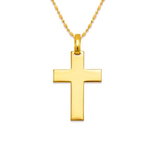 161-251 High Polished Cross Pendant