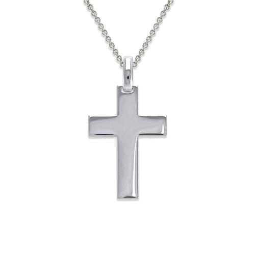 161-251W High Polished Cross Pendant