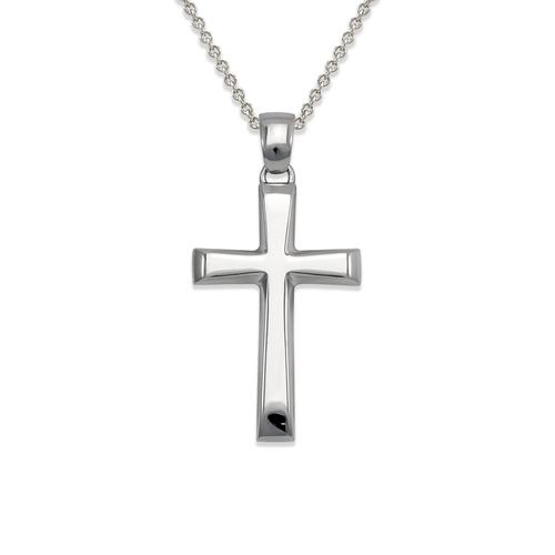 161-253W High Polished Cross Pendant