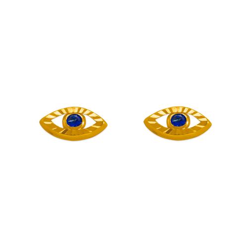 343-511 D/C Magic Eye CZ Stud Earrings