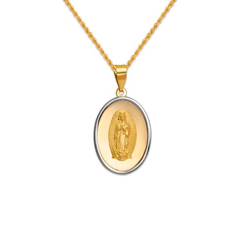 167-101-018 High Polished Guadalupe Pendant