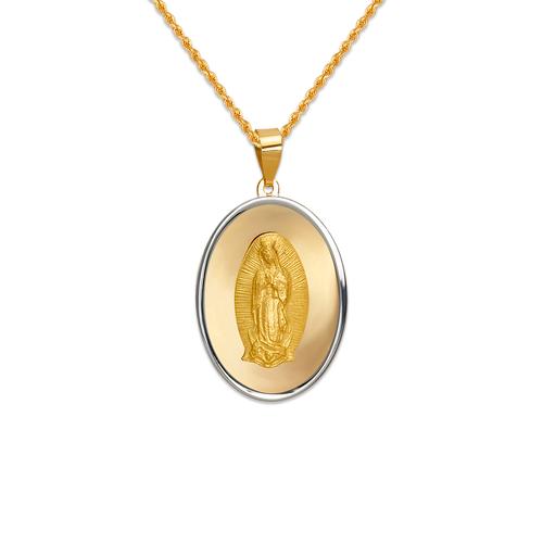 167-101-022 High Polished Guadalupe Pendant