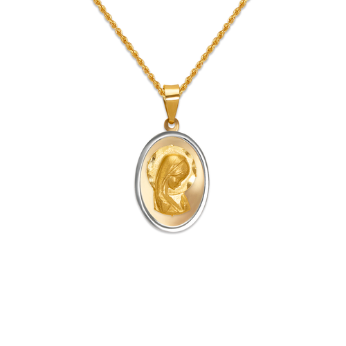 167-126-016 High Polished Virgin Mary Pendant