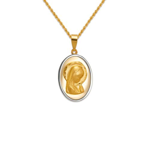 167-126-018 High Polished Virgin Mary Pendant