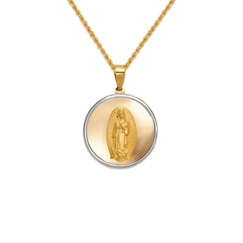 167-151-016 High Polished Guadalupe Pendant