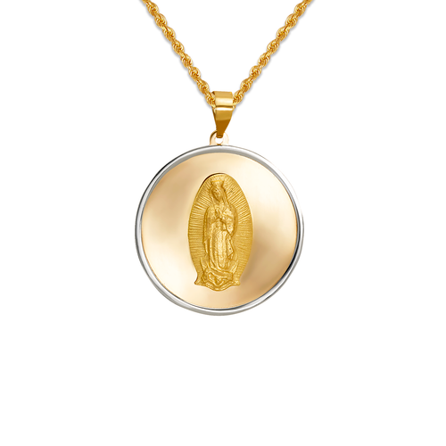 167-151-022 High Polished Guadalupe Pendant