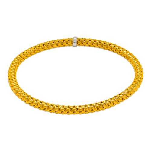 129-001-040 4mm Stretch Bangle Bracelet