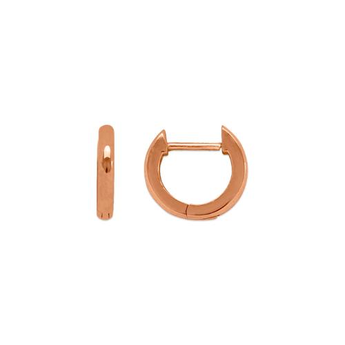 441-001R High Polished Huggie Earrings