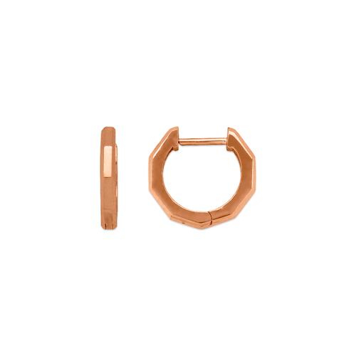 441-002R High Polished Huggie Earrings