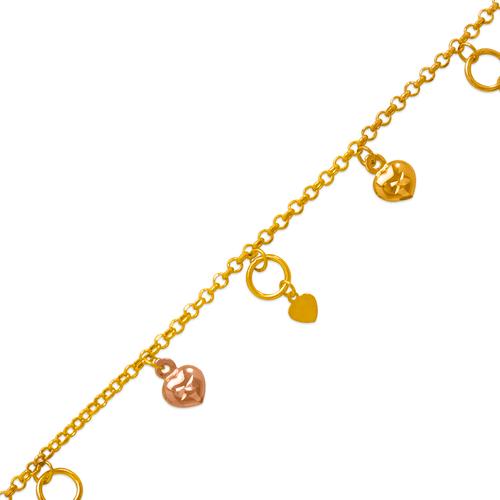 229-100-001T Charm Bracelet/Anklet