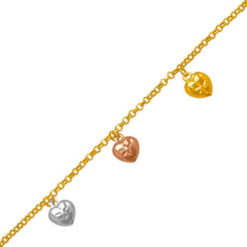 229-100-002T Charm Bracelet/Anklet