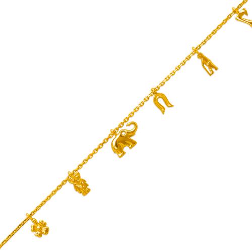 229-100-011 Charm Bracelet/Anklet