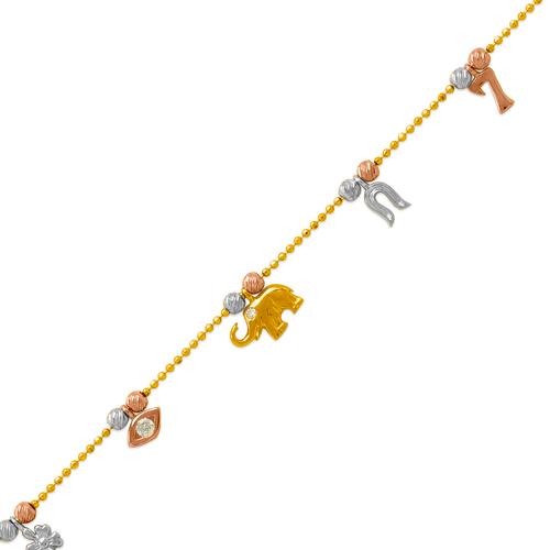 229-100-012T Charm Bracelet/Anklet