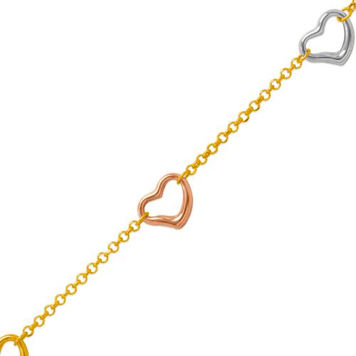 229-100-051T Charm Bracelet/Anklet