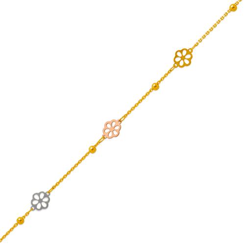 229-100-054T Charm Anklet