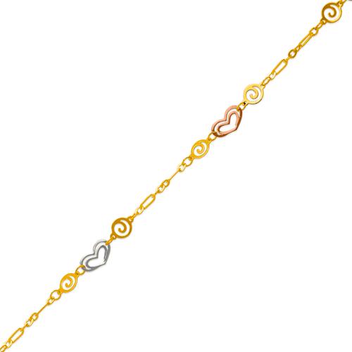 229-100-055T Charm Anklet