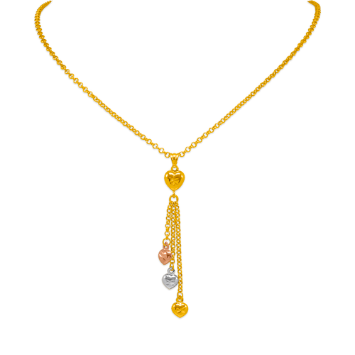 239-100-105T Charm Necklace