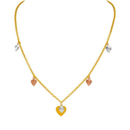 239-100-107T Charm Necklace