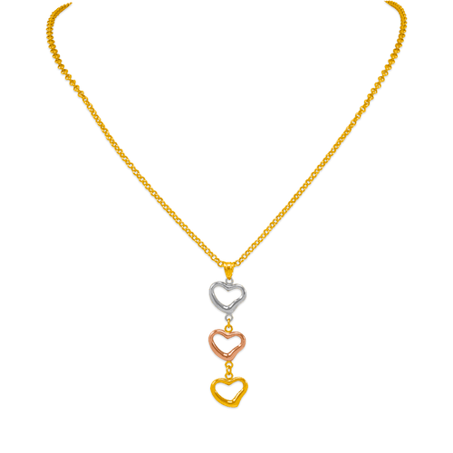 239-100-108T Charm Necklace
