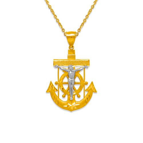 568-083Z 36mm Jesus Anchor Pendant