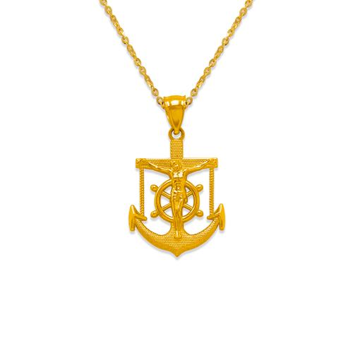 568-094 26mm Jesus Anchor Pendant