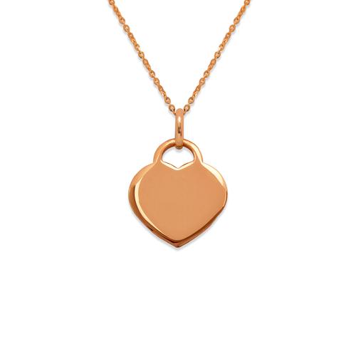 161-302R High Polished Heart Pendant
