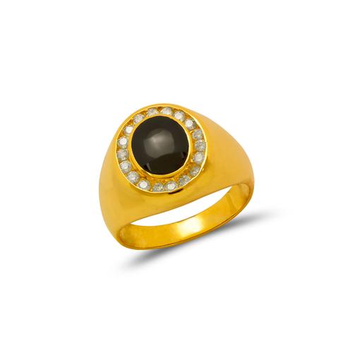 576-302 Men's Onyx CZ Ring
