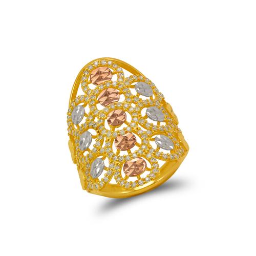 273-602 Mosaic CZ Ring