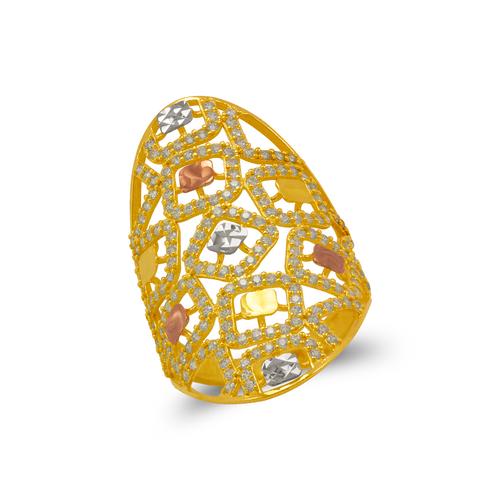 273-604 Mosaic CZ Ring