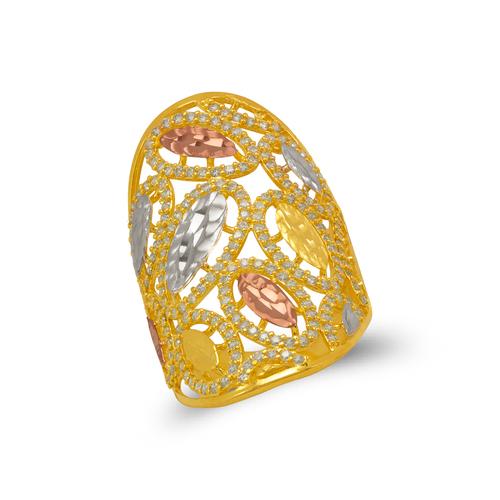 273-605 Mosaic CZ Ring