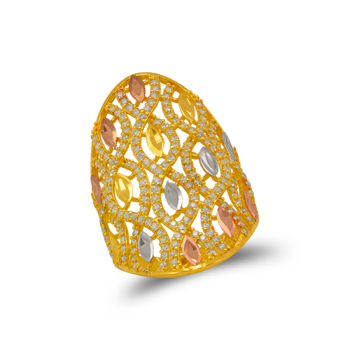 273-607 Mosaic CZ Ring