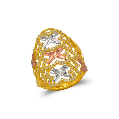 273-609 Mosaic CZ Ring