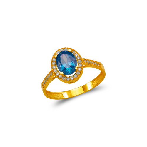 273-004 Ladies CZ Ring
