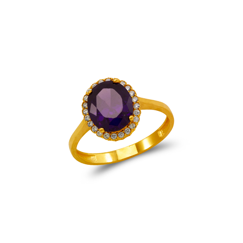 273-005 Ladies CZ Ring