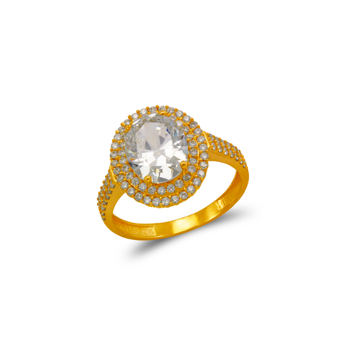 273-007 Ladies CZ Ring