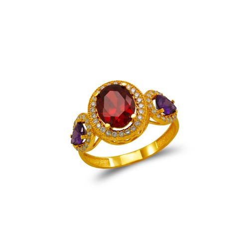 273-008 Ladies CZ Ring
