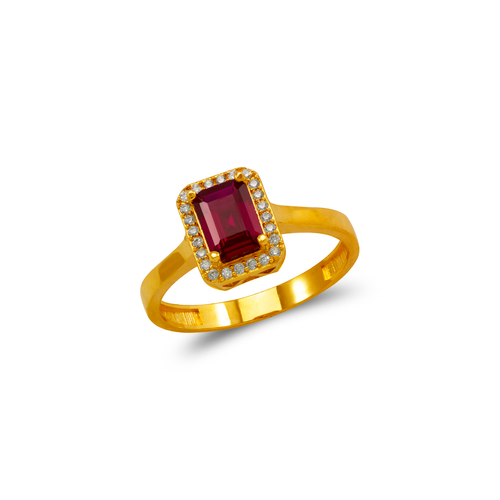 273-011 Ladies CZ Ring