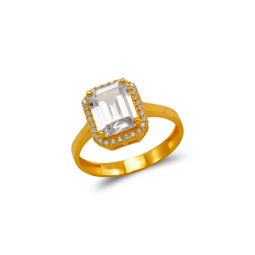 273-013 Ladies CZ Ring